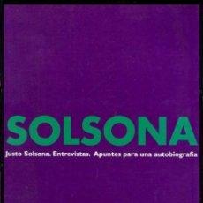 Libros de segunda mano: B207 - JUSTO SOLSONA. ARQUITECTO. ARQUITECTURA. ENTREVISTAS. APUNTES. BUENOS AIRES. ARGENTINA.. Lote 56463428
