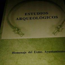 Libros de segunda mano: ESTUDIOS ARQUEOLÓGICOS. JOSÉ MARÍA LUENGO MARTÑINEZ. Lote 63534812
