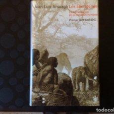 Libros de segunda mano: LOS ABORIGENES.- LA ALIMENTACION EN LA EVOLUCION HUMANA.- JUAN LUIS ARSUAGAA. Lote 64856379