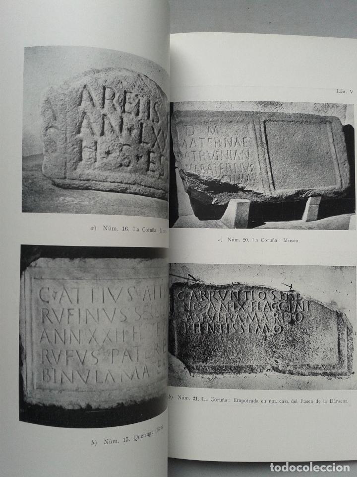 Libros de segunda mano: Inscripciones Romanas de Galicia. Coruña. Edita Ángel del Castillo y Álvaro D`ors. Año 1960. - Foto 3 - 67030362