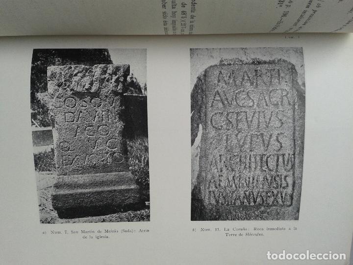 Libros de segunda mano: Inscripciones Romanas de Galicia. Coruña. Edita Ángel del Castillo y Álvaro D`ors. Año 1960. - Foto 4 - 67030362