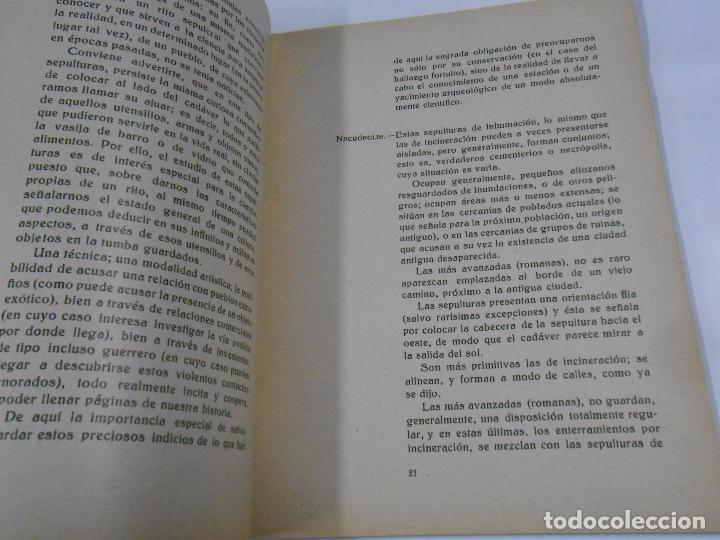 Libros de segunda mano: CARTILLA Y CUESTIONARIO SOBRE ARQUEOLOGIA. PREHISTORIA Y EDAD ANTIGUA. C. DE MERGELINA. VIANA. TDK78 - Foto 2 - 69478369