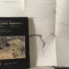 Libros de segunda mano: VALERIA ROMANA I. (ARQUEOLOGÍA DE CUENCA) LXV LÁMINAS CON FOTOGRAFÍAS Y 3 PLANOS PLEGADOS. Lote 213413288