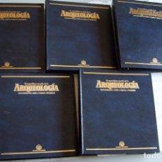 Libros de segunda mano: EL MARAVILLOSO MUNDO DE LA ARQUEOLOGÍA. PLANETA DEAGOSTINI. COMPLETA.. Lote 72204903