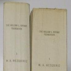 Libros de segunda mano: TERRA SIGILLATA HISPANICA (2 TOMOS) - MARÍA ÁNGELES MEZQUIRIZ DE CATALÁN. Lote 73763087