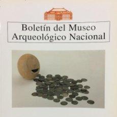 Libros de segunda mano: BOLETIN DEL MUSEO ARQUEOLOGICO NACIONAL TOMO XIV (1996). VV.AA.. Lote 77832581