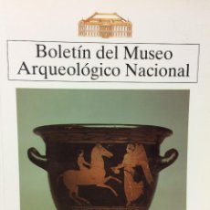 Libros de segunda mano: BOLETIN DEL MUSEO ARQUEOLOGICO NACIONAL TOMO XI Nº1-2 (1993). VV.AA.. Lote 77832893