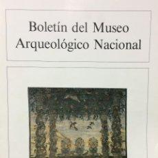 Libros de segunda mano: BOLETIN DEL MUSEO ARQUEOLOGICO NACIONAL TOMO III Nº2 (1985). VV.AA.. Lote 77833053