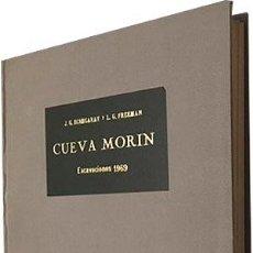 Libros de segunda mano: CUEVA MORIN. EXCAVACIONES 1969. (GONZALEZ ECHEGARAY, L.G. FREEMAN (SANTANDER. CANTABRIA. Lote 85269468