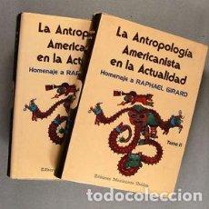 Libros de segunda mano: LA ANTROPOLOGÍA AMERICANISTA EN LA ACTUALIDAD. Lote 88970252