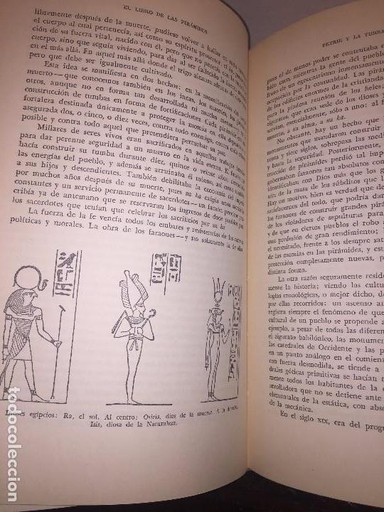 Libros de segunda mano: Dioses Tumbas y Sabios primera edición 1953 C W Ceram Luis Pericot buena conservación - Foto 6 - 144595977