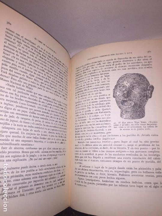 Libros de segunda mano: Dioses Tumbas y Sabios primera edición 1953 C W Ceram Luis Pericot buena conservación - Foto 7 - 144595977
