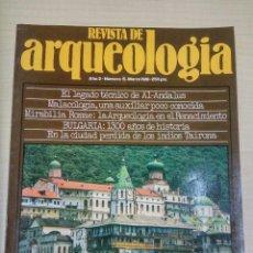 Libros de segunda mano: REVISTA DE ARQUEOLOGIA, AÑO 2 Nº 5 (1981). Lote 90462089