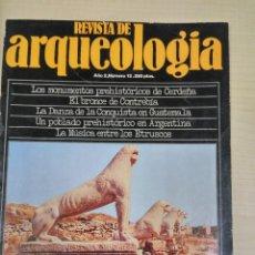 Libros de segunda mano: REVISTA DE ARQUEOLOGIA, AÑO 2 Nº 12 (1981-1982). Lote 90463054