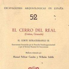 Libros de segunda mano: EL CERRO DEL REAL GALERA (GRANADA). Lote 93302585