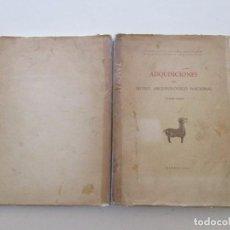 Libros de segunda mano: VV. AA. ADQUISICIONES DEL MUSEO ARQUEOLÓGICO NACIONAL (1940 – 1945). RMT82070. . Lote 94716931