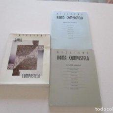 Libros de segunda mano: ATELIERS ROMA COMPOSTELA. 1.- DESPOIS DE ATLÁNTICA. 2.- OS NOVOS ROMANOS. DOS TOMOS. RMT82254. . Lote 95185535
