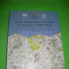 Libros de segunda mano: CARTA ARQUEOLOGICA DEL NORTE DE MARRUECOS - 2008 - 2012 - ( SIN DESPRECINTAR ). Lote 95472555