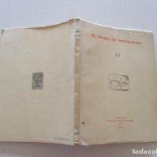 Libros de segunda mano: VV. AA. EL MUSEO DE PONTEVEDRA. XI. RMT82712. . Lote 96729759