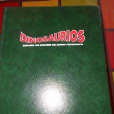 Libros de segunda mano: INOLVIDABLE COLECCIÓN DINOSAURIOS (DESCUBRE LOS GIGANTES DEL MUNDO PREHISTÓRICO).. Lote 97474119