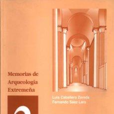Libros de segunda mano: LA IGLESIA MOZÁRABE DE SANTA LUCÍA DEL TRAMPAL. ALCUÉSCAR (CÁCERES). ARQUEOLOGÍA Y ARQUITECTURA. Lote 98103383