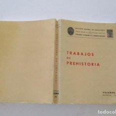 Libros de segunda mano: VV.AA. TRABAJOS DE PREHISTORIA. VOLUMEN 34 (NUEVA SERIE). MADRID, 1977. RMT83404. . Lote 99198391
