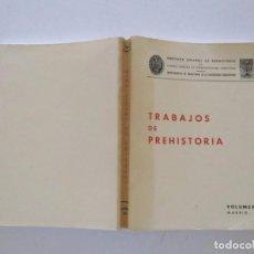 Libros de segunda mano: VV.AA. TRABAJOS DE PREHISTORIA. VOLUMEN 39 (NUEVA SERIE). MADRID, 1982. RMT83408. . Lote 99198579
