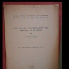 Libros de segunda mano: SANTUARIOS PRERROMANOS DEL MEDIODIA DE LA GALIA. RAYMOND LANTIER. Lote 101134403