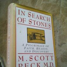 Libros de segunda mano: IN SEARCH OF STONES, A PILGRIMAGE OF FAITH, REASON, AND DISCOVERY, HARDCOVER. Lote 101155572