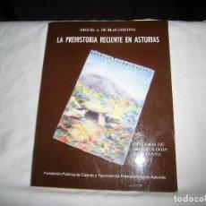 Libros de segunda mano: LA PREHISTORIA RECIENTE EN ASTURIAS.MIGUEL A.DE BLAS CORTINA.ESTUDIOS DE ARQUEOLOGIA ASTURIANA Nº 1.. Lote 101225979