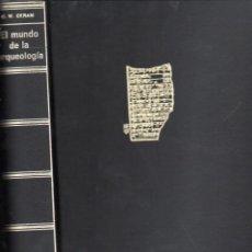 Libros de segunda mano: C. W. CERAM : EL MISTERIO DE LA ARQUEOLOGÍA (DESTINO, 1974). Lote 101294739