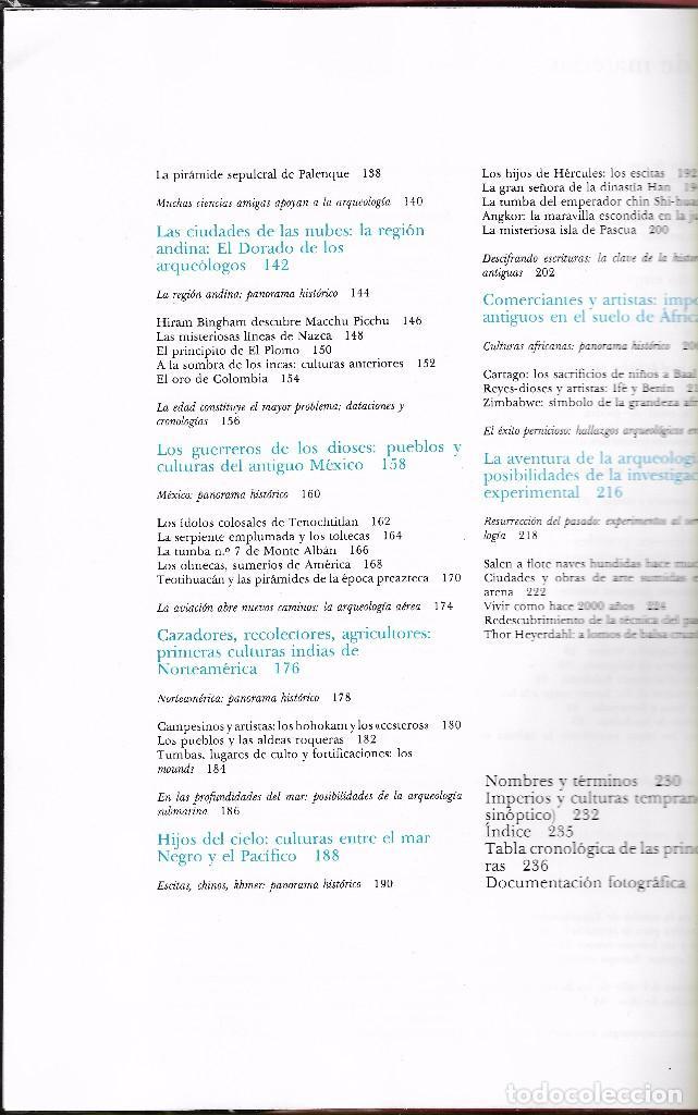 Libros de segunda mano: TRAS LAS HUELLAS DE NUESTRO PASADO. LA AVENTURA DE LA ARQUEOLOGÍA - KURT BENESCH - C. LECTORES 1981. - Foto 3 - 102818923