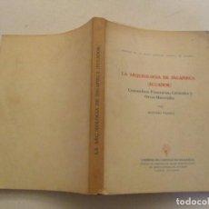 Libros de segunda mano: LA ARQUEOLOGÍA DE INGAPIRCA (ECUADOR). COSTUMBRES FUNERARIAS, CERÁMICA Y OTROS MATERIALES. RM84435.. Lote 103774755