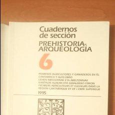 Libros de segunda mano: PRIMEROS AGRICULTORES Y GANADEROS EN CANTÁBRICO Y ALTO EBRO KARRANTZA 1993 PREHISTORIA ARQUEOLOGÍA. Lote 105826588