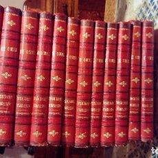 Libros de segunda mano: ENCICLOPEDIA COMPLETA HISTORIA NATURAL DE CESAR CANTU. Lote 105852995