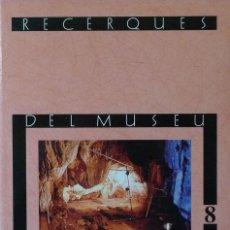 Libros de segunda mano: (PAÍS VALENCIÀ) (ALCOY) (ARQUEOLOGÍA) RECERQUES DEL MUSEU D'ALCOI, 8 - VARIOS AUTORES. Lote 105922623
