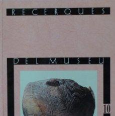 Libros de segunda mano: (PAÍS VALENCIÀ) (ALCOY) (ARQUEOLOGÍA) RECERQUES DEL MUSEU D'ALCOI, 10 - VARIOS AUTORES. Lote 105922875
