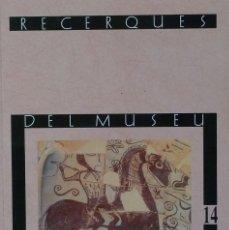 Libros de segunda mano: (PAÍS VALENCIÀ) (ALCOY) (ARQUEOLOGÍA) RECERQUES DEL MUSEU D'ALCOI, 14 - VARIOS AUTORES. Lote 105923559