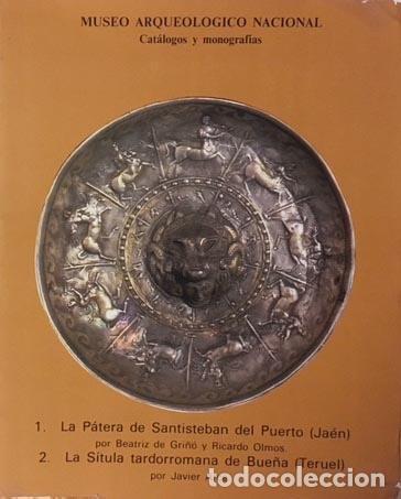 Libros de segunda mano: La Pátera de Sansisteban del Puerto / La sítula tardorromana de Bueña (Teruel) M. Arqueológico - Foto 2 - 106672223