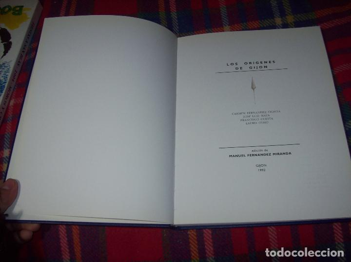 Libros de segunda mano: LOS ORÍGENES DE GIJÓN. EDICIÓN DE MANUEL FERNÁNDEZ MIRANDA. AYUNTAMIENTO DE GIJÓN . 1992. VER FOTOS - Foto 3 - 113585995