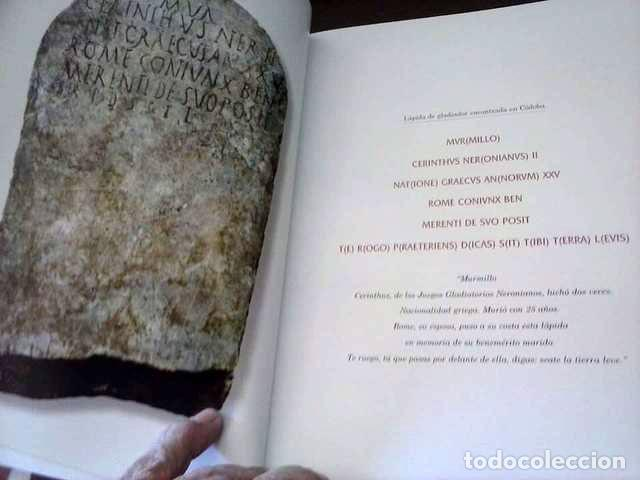 Libros de segunda mano: GLADIATOR - RICARDO GAGIGAL 2010 - Foto 4 - 115243591