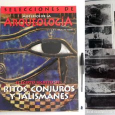 Libros de segunda mano: REVISTA MISTERIOS DE LA ARQUEOLOGÍA 7 EGIPTO SECRETO RITOS TALISMÁN MISTERIO FARAONES MAGIA HISTORIA. Lote 115467215