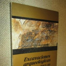 Libros de segunda mano: EXCAVACIONES ARQUEOLÓGICAS EN ASTURIAS 1983-86, PREHISTORIA. Lote 115741267