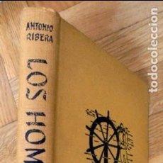 Libros de segunda mano: LOS HOMBRES-PECES (EXPLORACION Y ARQUEOLOGIA SUBMARINAS) - ANTONIO RIBERA. Lote 116581867