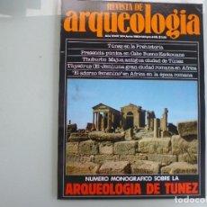 Libros de segunda mano: REVISTA DE ARQUEOLOGIA N 50 ARQUEOLOGIA TUNEZ, MONOGRAFICO. Lote 118675871