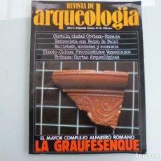 Libros de segunda mano: REVISTA DE ARQUEOLOGIA N 31 GRAUFESENQUE, CASTULO. Lote 118677071
