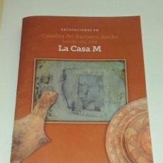 Libros de segunda mano: EXCAVACIONES EN COIMBRA DEL BARRANCO ANCHO. JUMILLA. CATALOGO DE LA EXPOSICION.. Lote 118691571