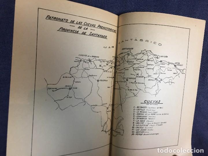 Libros de segunda mano: LA CUEVA DE ALTAMIRA Y OTRAS CUEVAS PINTURAS PROVINCIA DE SANTANDER J CARBALLO 1944 19X12,5CMS - Foto 9 - 120253451