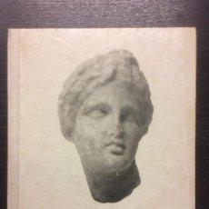 Libros de segunda mano: L´ART GREC A CATALUNYA, P BOSCH GIMPERA, 1938. Lote 120561179