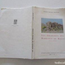 Libros de segunda mano: ANTONIO BELTRÁN MARTÍNEZ LOS GRABADOS DEL BARRANCO DE BALOS (GRAN CANARIA). RM86243. Lote 120668591